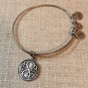 Silver Alex and Ani bracelet